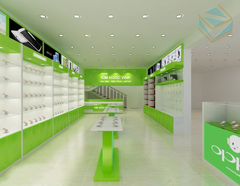 Tổng quan cửa hàng điện thoại di động
