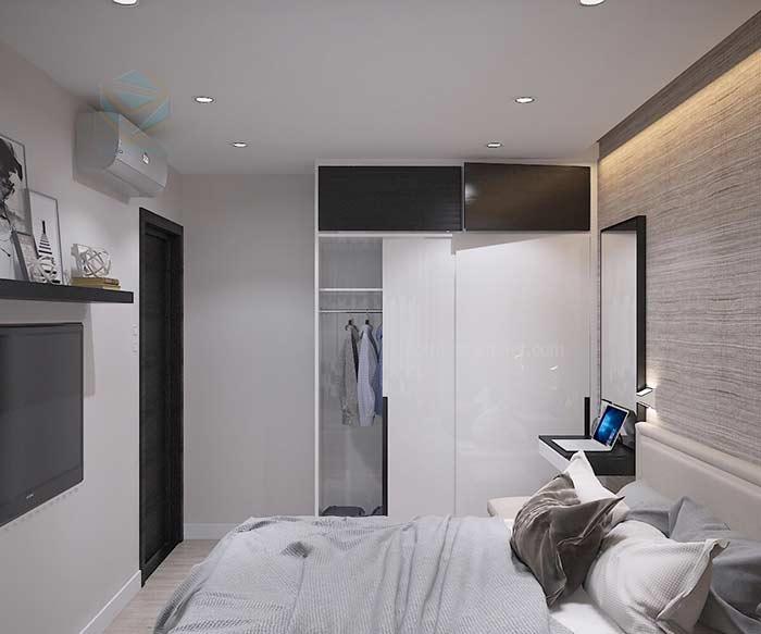 Thiết kế nội thất  phòng ngủ chị thảo Gò Vấp
