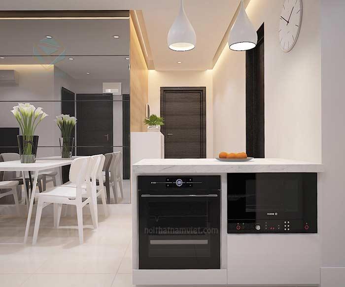 Thiết kế nội thất tủ bếp
