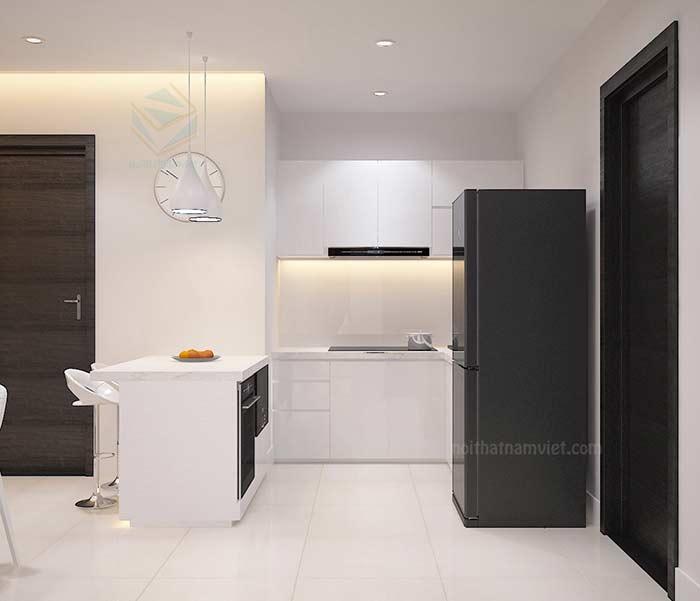 Thiết kế nội thất tủ bếp Chị Thảo Gò Vấp