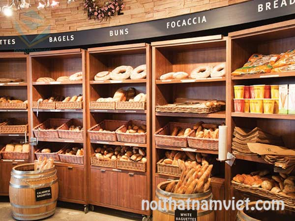 Thiết kế thi công cửa hàng bánh ngọt nhỏ hoặc lớn