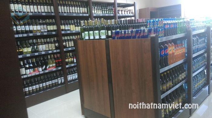 tủ trưng bày rượu vang