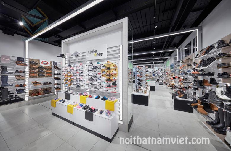thiết kế shop giày công sở