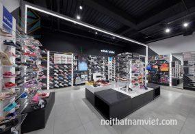 thiết kế cửa hàng giày dép thời trang đẹp