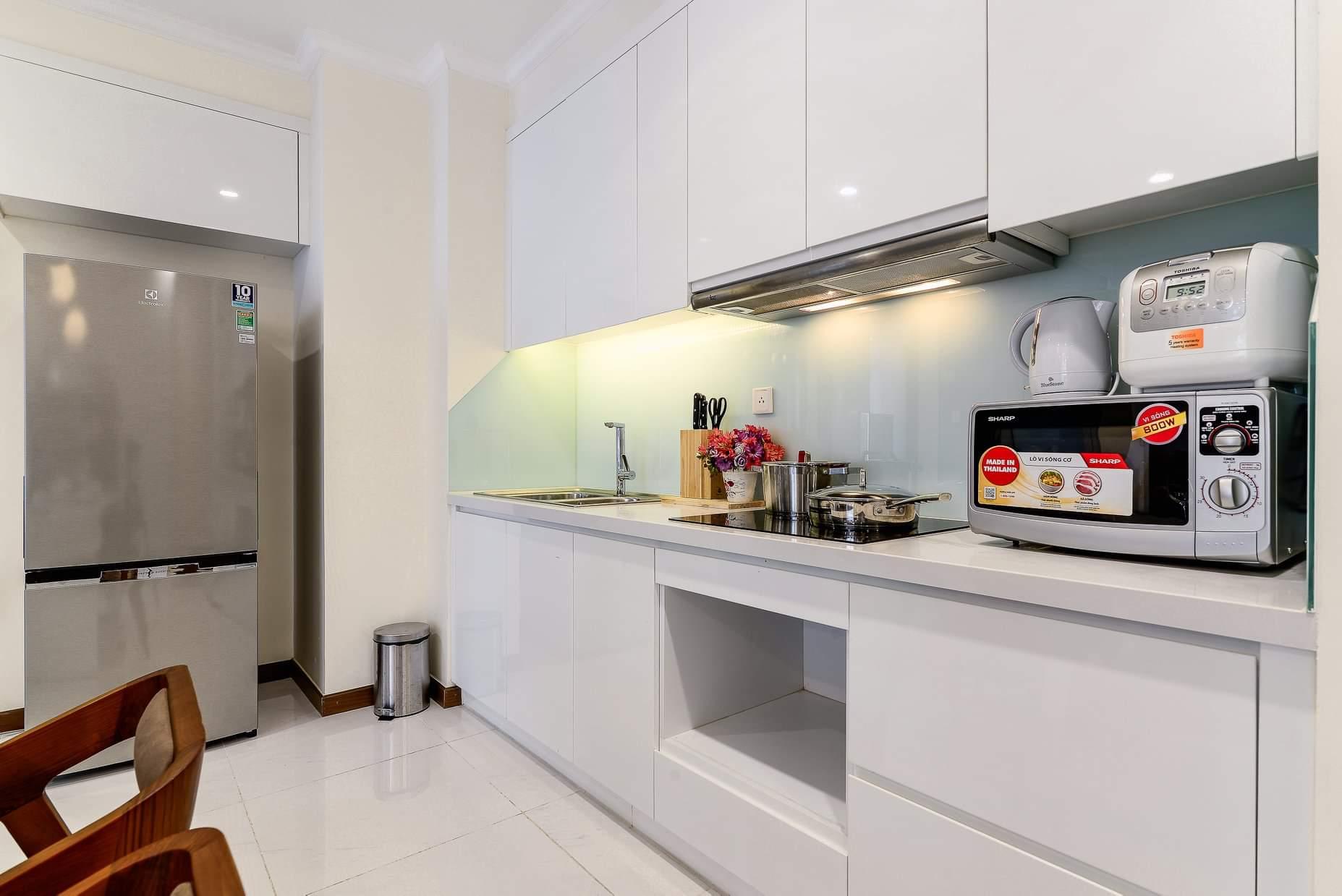nội thất chung cư 70m2 2 phòng ngủ giá rẻ