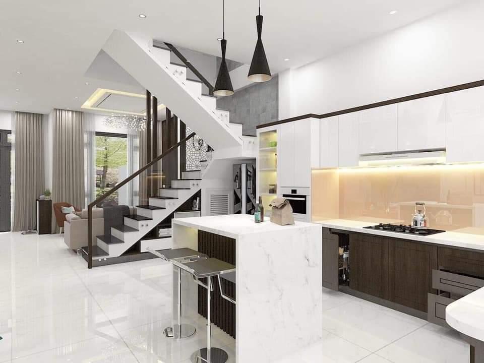 Không gian thiết kế nội thất phòng bếp