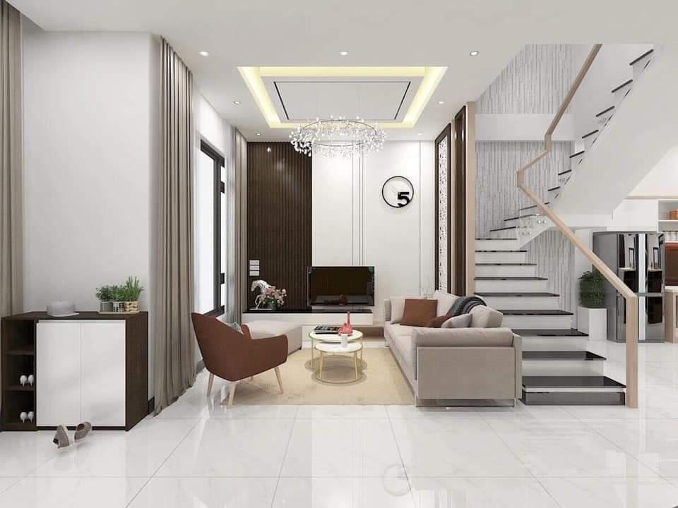 không gian phòng khách phong cách hiện đại