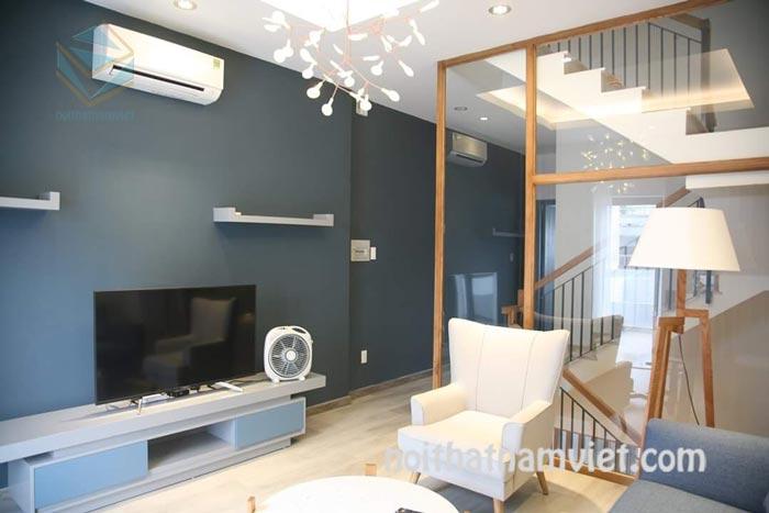 Thiết kế thi công nội thất nhà phố 3 tầng đẹp