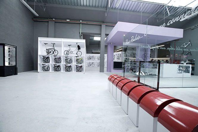 Thiết kế thi công nội thất showroom xe đạp thể thao đẹp