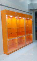 Thiết kế thi công làm tủ kệ trưng bày shop thời trang đồ lót nữ