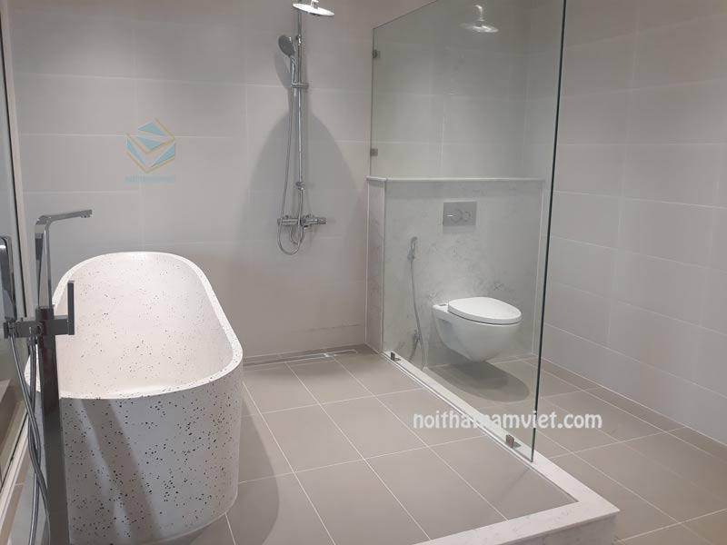 Phòng vệ sinh và nhà tắm kết hợp