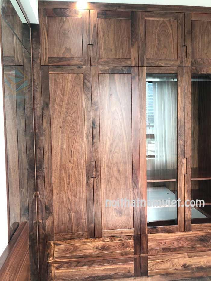 Tủ áo bằng gỗ