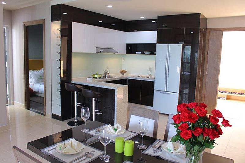 thiết kế thi công nội thất căn hộ opal garden