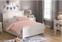 Giường ngủ gỗ tự nhiên phong cách thanh lịch GN-011