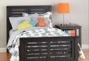 Giường ngủ đơn nhỏ gọn bằng gỗ GN-020