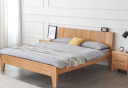 giường ngủ gỗ sồi tự nhiên chất lượng cao GN-012